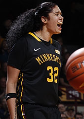 Amanda Zahui (photo: University of Minnesota Athletics)